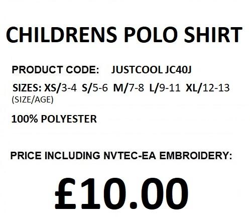 JC40J CHILDRENS POLO DESCRIPTION
