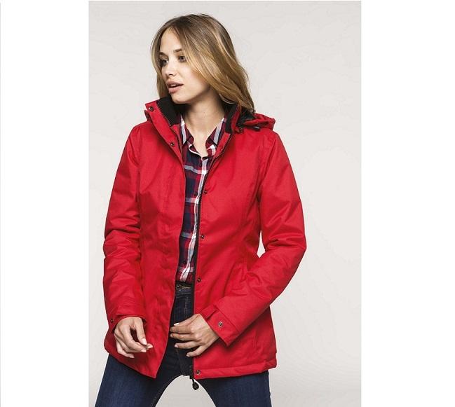 Kariban Parka Padded Jacket K6108 womens