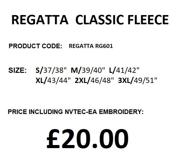 RG601 FLEECE DESCRIPTION