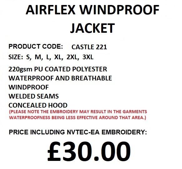AIRFLEX JACKET DESCRIPTION
