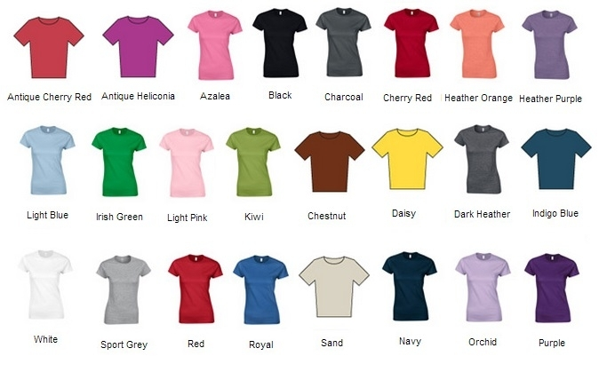 GD072 COLOUR CHART