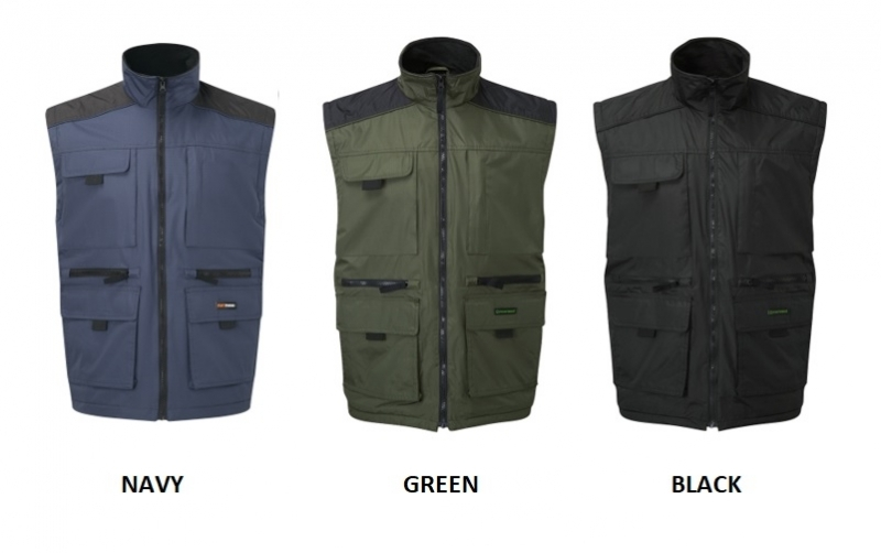 LINCOLN BODYWARMER COLOURS