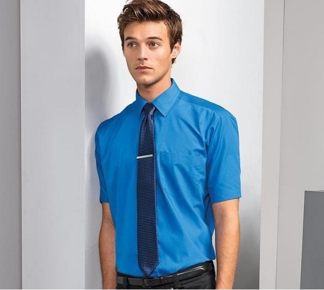 Poplin Shirt Short Sleeve PR202