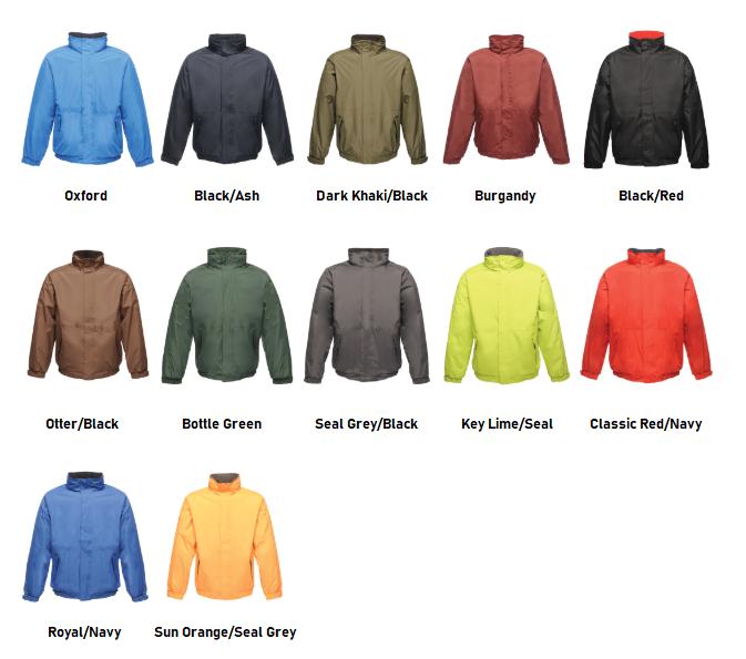 RG045 Colour Chart