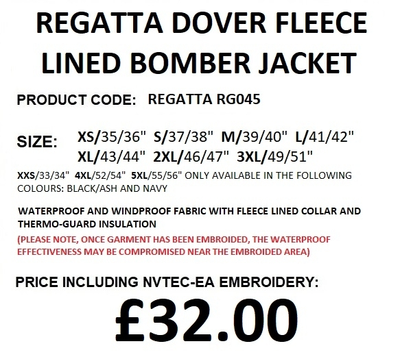 RG045 JACKET DESCRIPTION