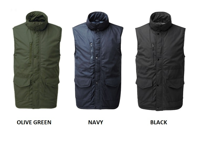 WROXHAM BODYWARMER COLOURS
