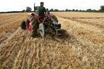chris-legg-with-his-international-b250-1956-using-a-very-rare-ford-epg3-2-furrow-plough